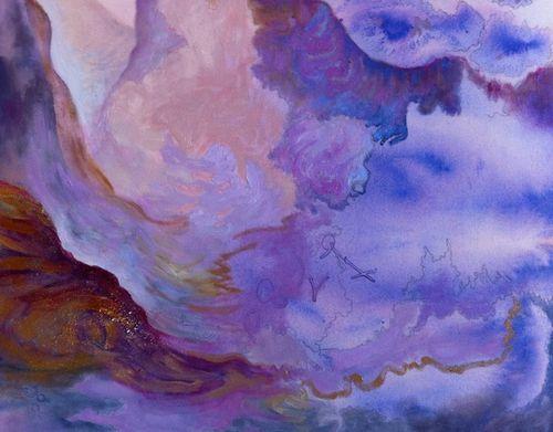 purple dreamscape: detail 2